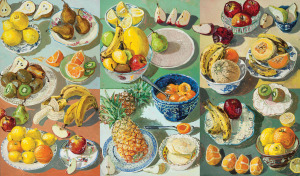 Summer Fruits, 2000, by Lucy Culliton