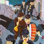 The band returning, 2005, by Bernard Ollis