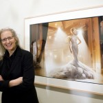 Annie Leibovitz at the MCA, Sydney, February 2011. Photograph of Leibovitz courtesy of Ben Symons and the MCA.