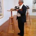 William Kentridge at Annandale Galleries, picture by Elizabeth Fortescue