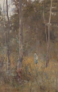 Lost, by Frederick McCubbin, from the collection of the National Gallery of Victoria