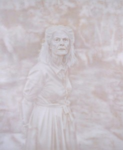 Penelope Seidler, by Fiona Lowry. Winner of the 2014 Archibald Prize